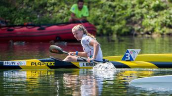 Óriási fölénnyel lett ifjúsági olimpiai bajnok a kajakos Rendessy Eszter