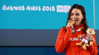 Késely Ajna és Milák Kristóf is háromszoros ifjúsági olimpiai bajnok