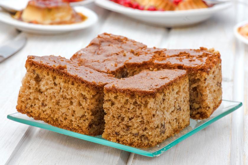 Olcsó és elronthatatlan kevert süti: dióval egyszerűen fantasztikus