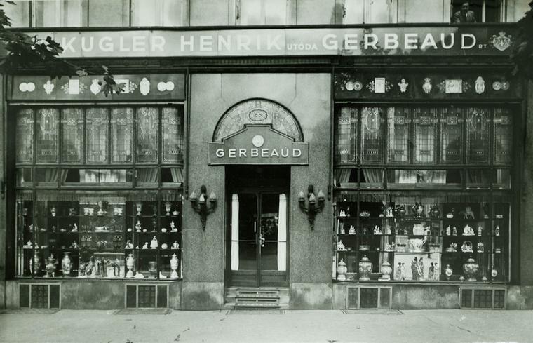 Gerbeaud Emil 1890-re már átvette a cukrászda irányítását