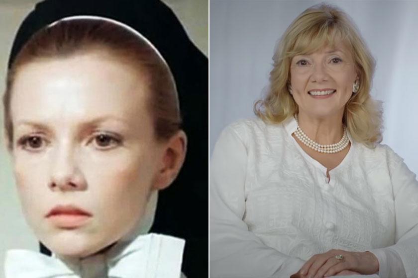 A gyönyörű Piros Ildikó alakította a bájos Zsuzsanna nővért. A 71 éves színésznő a Turay Ida Színházban játszik 2010 óta.