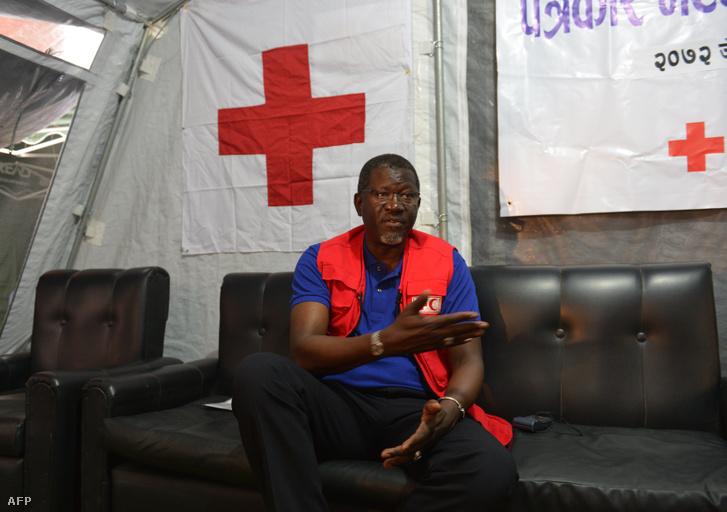 Elhadj As Sy, az IFRC főtitkára