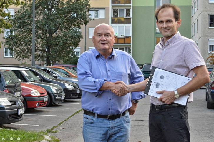 Dr. Melega Miklós és Hende Csaba