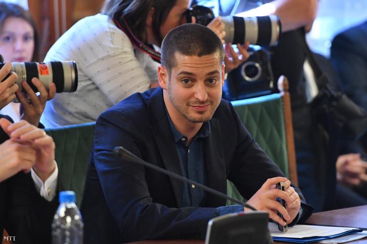 Ungár Péter, az LMP országgyűlési képviselője