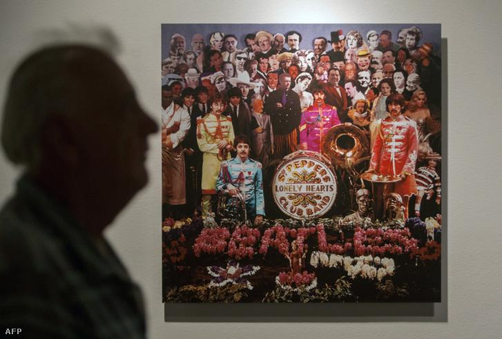 The Beatles ikonikus Sgt. Pepper's Lonely Hearts Club Band című 1967-es albuma