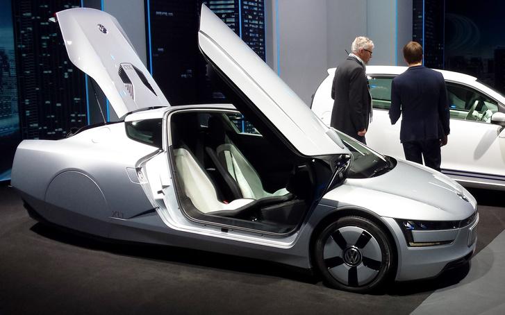 A Volkswagen extrém kisfogyasztású autója, az XL1
