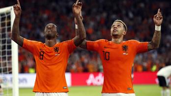 Hollandia tíz perc alatt kiütötte a németeket