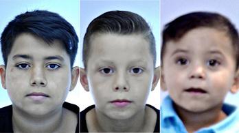 Eltűnt három gyerek, köztük egy kétéves kisfiú