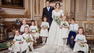Íme az első hivatalos fotók Eugénia hercegnő esküvőjéről