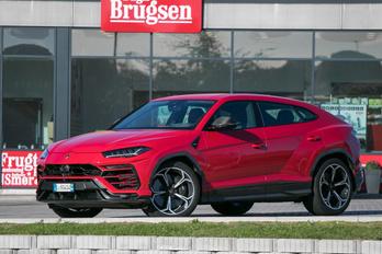 Lamborghini-SUV! Vezettük!!!