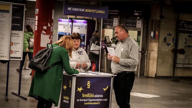Már 270 ezer aláírás összejött az Európai Ügyészségért