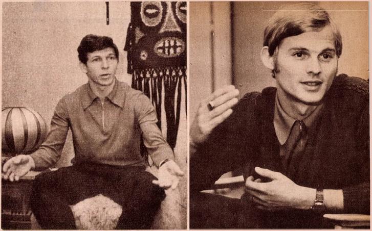 Szalay Miklós és Básti István. Forrás: Arcanum adatbázis