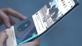Lehet, hogy most már tényleg jön az összehajtható Samsung?