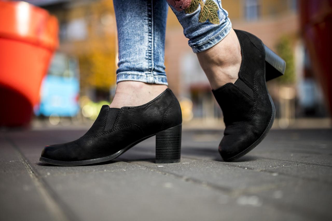 Ez az egyik kedvenc cipője.