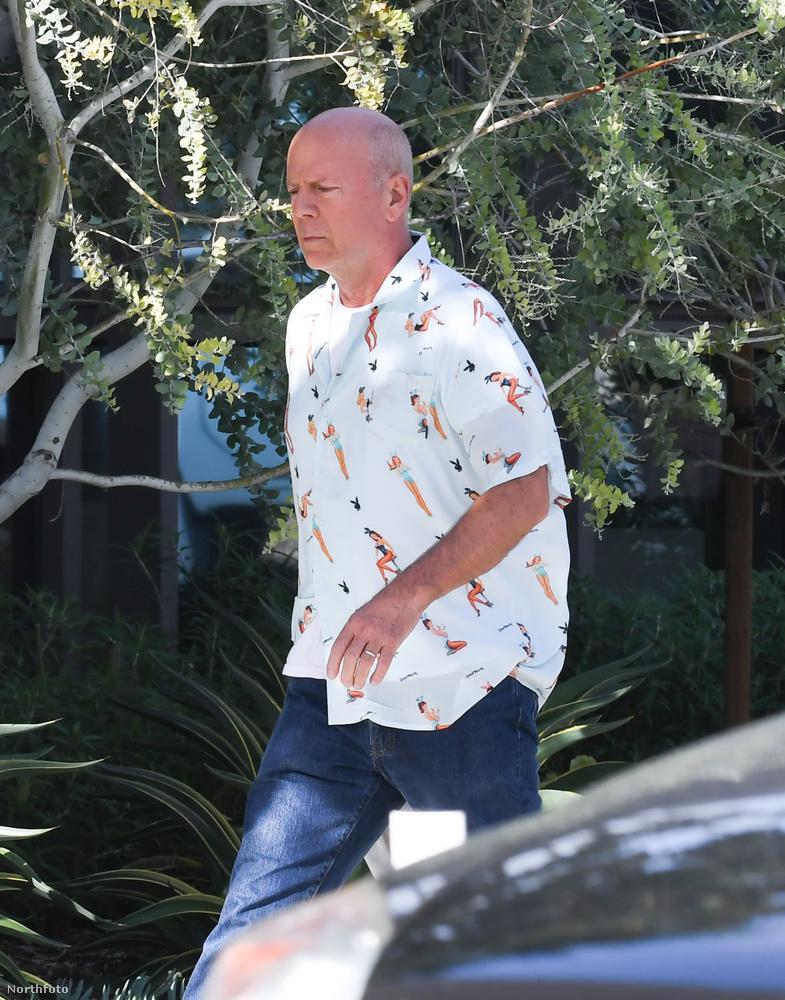 Erre Bruce Willis itt flangál a nagyon sok idő alatt lebomló szatyrával.Kösz, Willis!Na, viszlát!