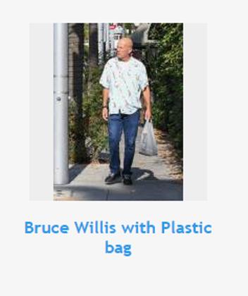 Bruce Willis és egy nylon zacskó