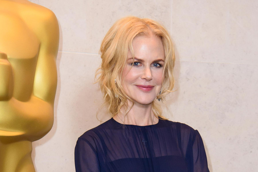 Nicole Kidman áttetsző ruhában tündökölt az Oscar-partin - Csodaszép volt