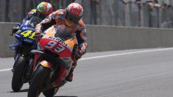 Rossi: Márquez túlszárnyalhat, de nem zavar