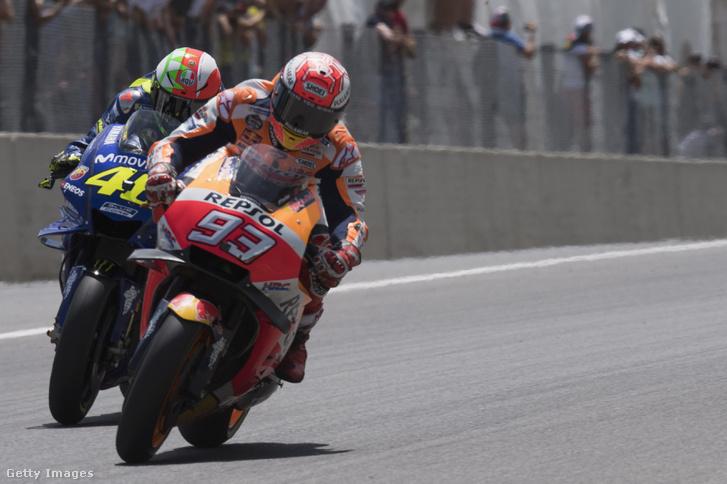 Rossi és Marquez