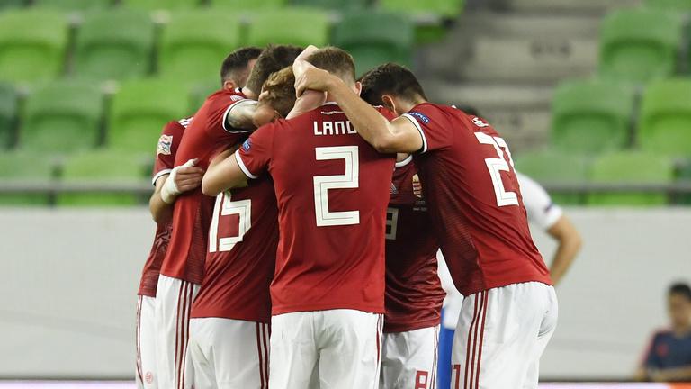 Az észt-magyar Nemzetek Ligája meccs percről percre