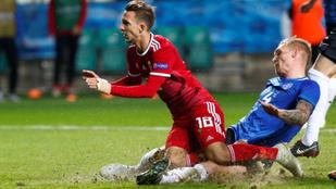 Tallinni 3-3-mal úszott el a Nemzetek Ligája-feljutás