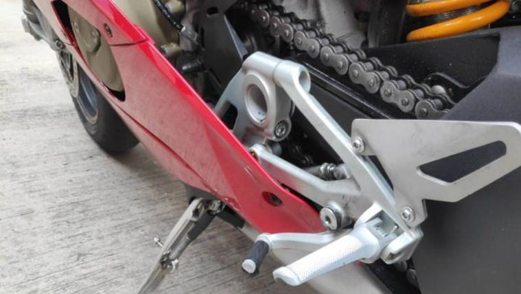 Valia túlságosan is ledöntötte a Ducatit