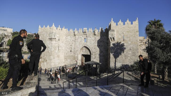 A Damaszkuszi kapu Jeruzsálemben