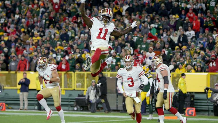 Az olimpiai sebesség elég nagy csalás az NFL-ben