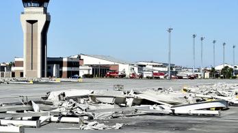 A hurrikán lezúzta az amerikai légierő floridai központját
