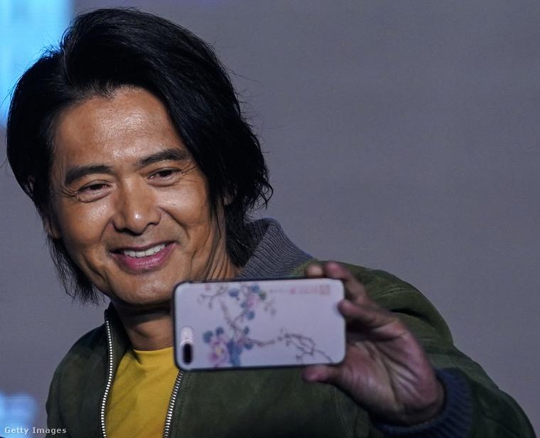 Chow Yun-fat idén szeptember végén. Project Gutenberg című filmjét promózza mostanában.