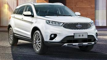 Kínai Evoque klónból lett a legújabb Ford