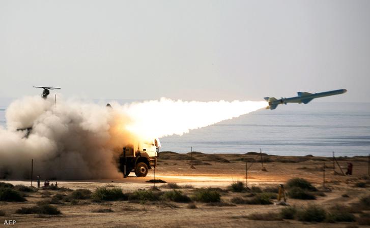 Az iráni föld-tenger rakéta, a Gader (Qader – Ghader)