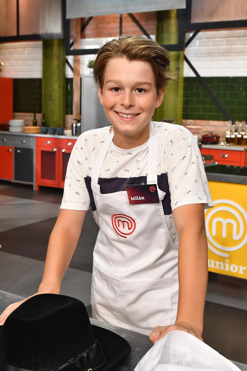 Temesvári Andrea 13 éves fia, Visontai Milán a TV2-n futó MasterChef Junior egyik versenyzője.