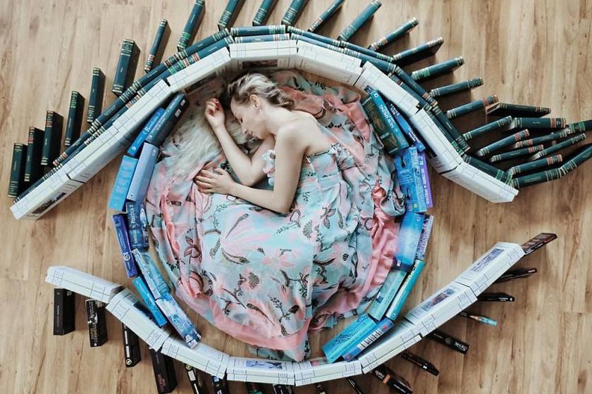 Az olvasás felnyitja a szemed.