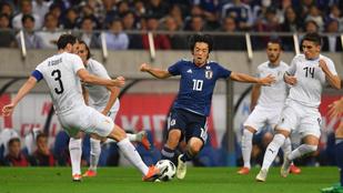 Nagyon megetette az atletis Godint a japán csatár