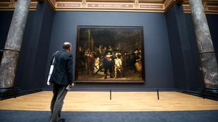 A szemünk előtt újul meg Rembrandt leghíresebb festménye