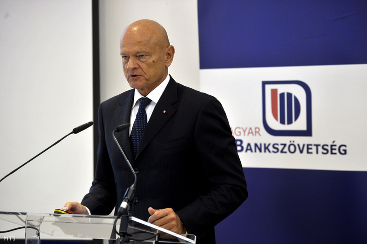 Patai Mihály a Magyar Bankszövetség elnöke