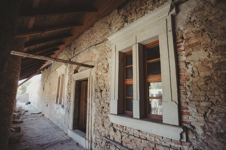 Rekonstruált ablakkeretek