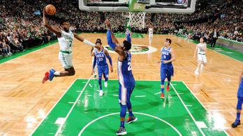 Pusztító erődemonstrációt tartott a Celtics