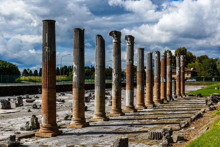 Római romok Aquileiában