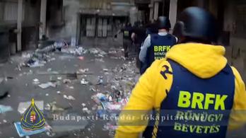 Megint drograzziát tartott a rendőrség a Hős utcában