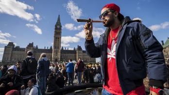 Kanadában legalizálták a marihuánát