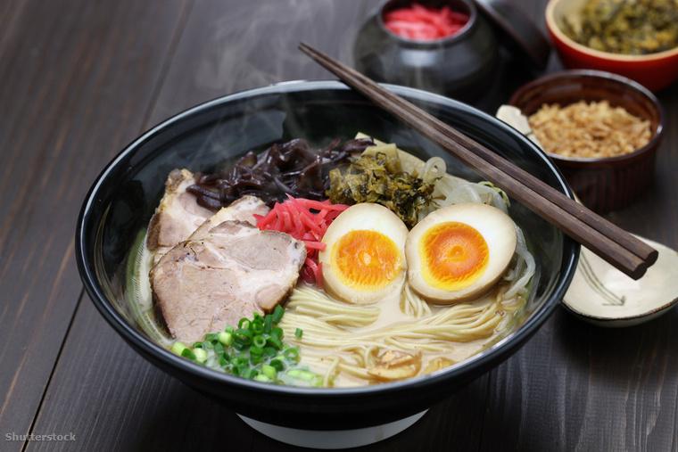 A rámen japán tésztaleves