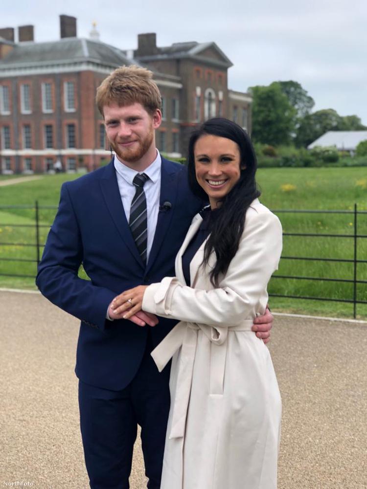 Amióta pedig Harry herceg kapcsolata hivatalossá vált Meghan Markle-lel, a srác sokszor nem egyedül dolgozik, hanem egy ál-Meghan Marklellel