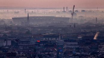 Négy településen is egészségtelen a levegő