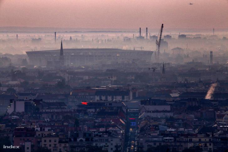 Budapest levegő-egészségügyi helyzete is kifogásolt