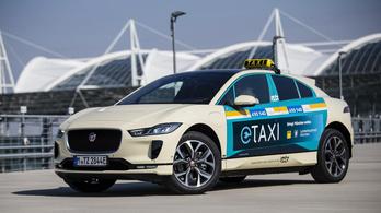 Jaguar taxikat rendszeresítenek Münchenben