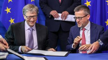 Bill Gates 16 milliárd forintot tol az EU-s környezetvédelembe