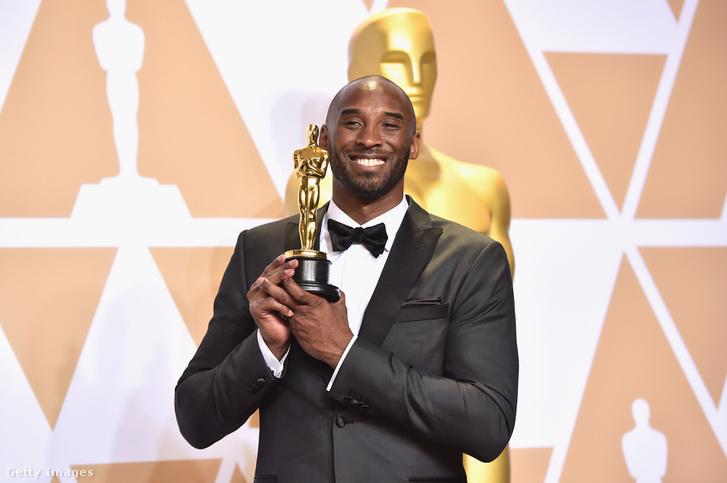 Kobe Bryant az Oscar-díjátadón 2018 március 4-én