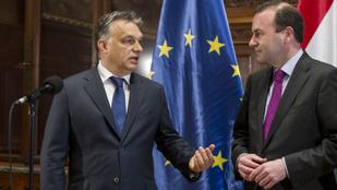 Orbán Manfred Webert támogatja az Európai Néppárt élére